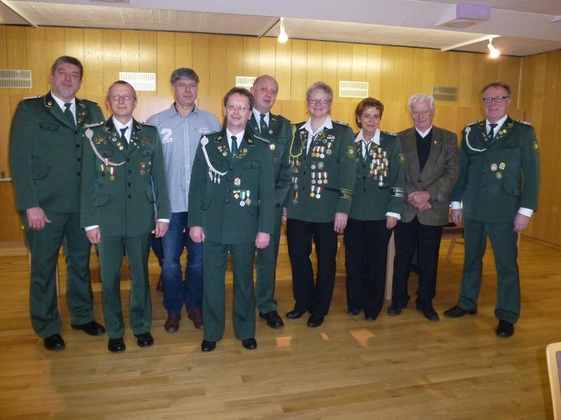Heinrich Mohrhoff seit 60 Jahren im Schützenverein