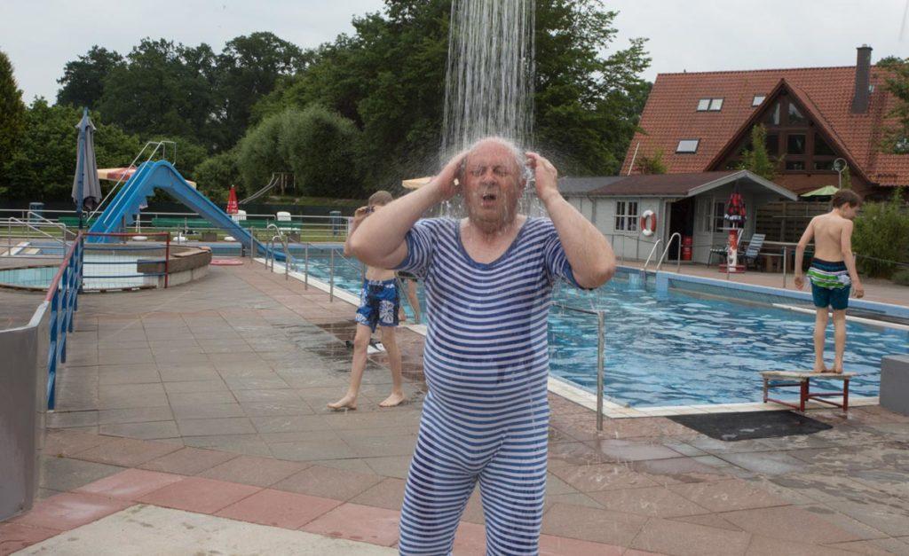 Wolfgang Lüftner eröffnet Schwimmbadsaison 2018