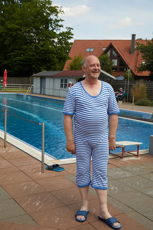 Wolfgang Lüftner im Ringeldress